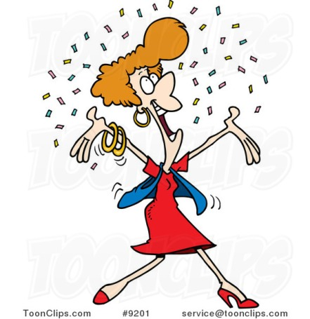 cartoon-happy-lady-in-confetti-by-ron-leishman-9201