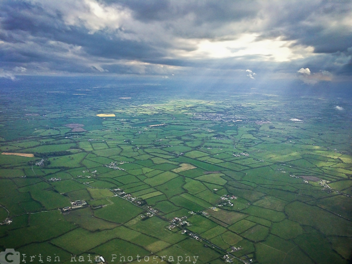 ireland-from-the-air-green-patchwork-fields-sun-in-clouds-beautiful-forty-40-shades-of-green-irish-ireland-may-2015