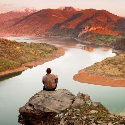 Contentment-mountaintop