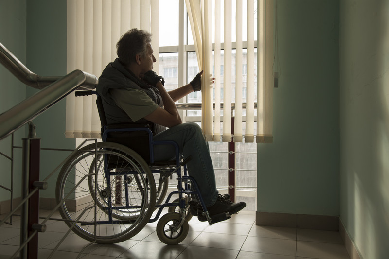 Elderly-Persoon-Alone-In-A-Nursing-Home